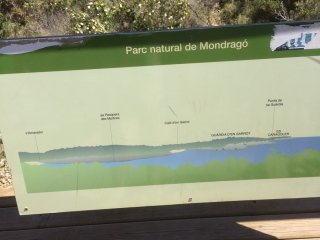 Parc natural de Mondrago am 05.05.-01-